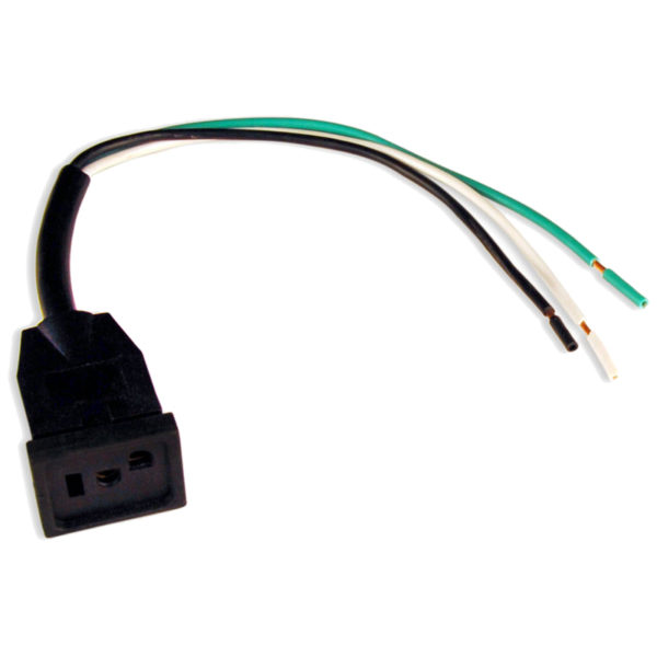 "UltraGrow Ballast Cord Receptacle Female with 12"" Lead Wire"