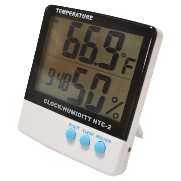UltraGrow Thermometer/Clock/Humidity